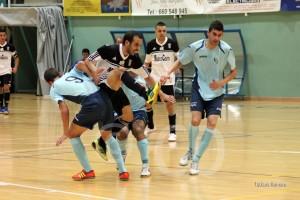 El Ceutí FS logró ante El Ejido su cuarta victoria consecutiva en casa