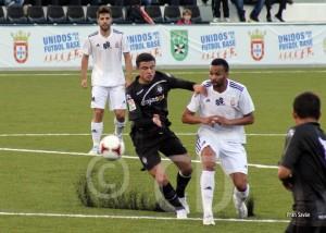 Randy, uno de los jugadores del Atlético de Ceuta más destacados