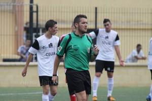 Juan Pablo Ramos Rodríguez, colegiado ceutí de Tercera División