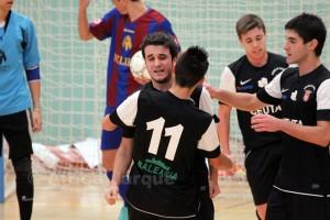 Los jugadores del Ciudad de Ceuta aspiran a celebrar en Nerja una nueva victoria