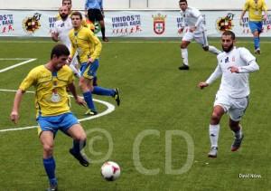 El CMD San Juan le plantó cara al Atlético de Ceuta en la primera parte y fue un digno rival