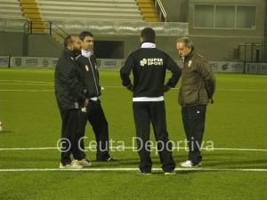 Álvaro Pérez se perdió el primer entrenamiento de la semana en el Alfonso Murube