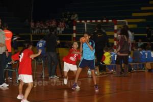 Nueva entrega de la Liga Escolar de Balonmano Base en 'La Libertad'