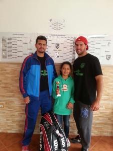 Liriah ganó el torneo infantil en el que participaron 10 jugadores