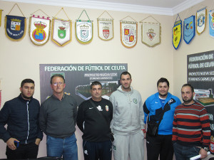 Representantes de los cuatro equipos que disputarán el play off por el título juvenil