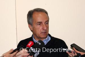 Álvaro Pérez ha cargado con dureza contra el árbitro