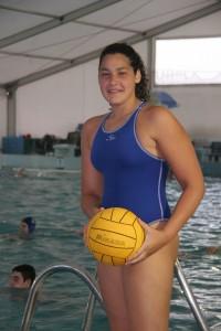 Lorena Miranda no faltará a la Liga Mundial de Waterpolo en Pekín