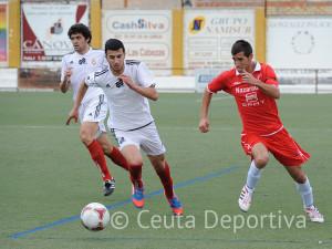 Ismael ha disfrutado de muchos minutos en su debut en Tercera División