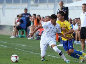Chakir ha militado esta temporada en el San Roque, cedido por el Recreativo, donde ha participado en 30 partidos