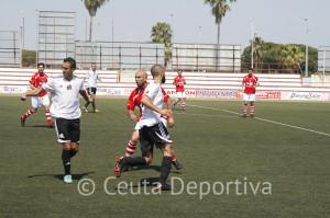El Portuense jugó el último partido de la temporada en el José del Cuvillo contra el Atlético de Ceuta