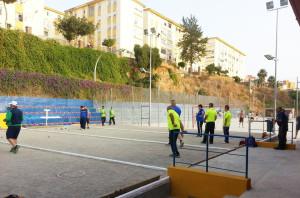 Una imagen del torneo disputado en el Club Petanca Zurrón