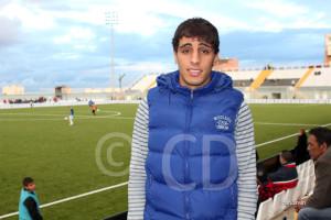 Chakir jugó el curso pasado una treintena de partidos con el CD San Roque de Lepe en Segunda 'B'