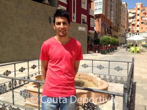 Tuli, de vacaciones en su ciudad natal, ha hablado para Ceuta Deportiva