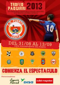 Reproducción del cartel del Memorial Francisco Galán 'Paquirri' de este año