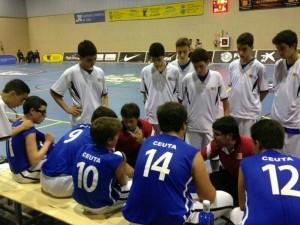 Borja Molinary y Marco Marañés. Campeonato de España Infantil Masculino 2012