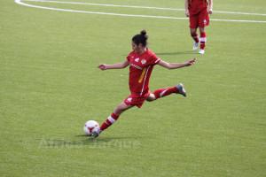 Nerea, una de las jugadoras que ha sido titular en las dos primeras jornadas del Campeonato
