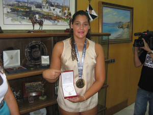 Lorena Miranda recibirá la máxima distinción de la RFEN
