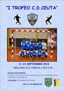 Reproducción del cartel del I Trofeo C.D. Ceuta