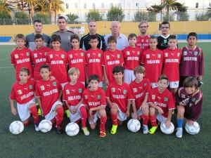 Selección alevín de fútbol 8