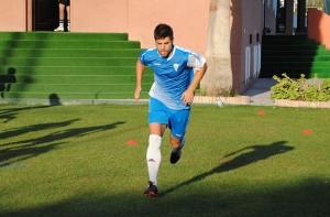 El mediocentro almeriense ha regresado a los terrenos de juego en Huércal con el Marbella FC