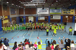 Un momento del divertido acto de presentación de los distintos equipos del CB Ceuta San Daniel