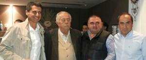 García Gaona, Oliveira, Paquirri y Juan Martín asistieron a la Copa de Navidad