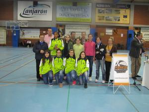 El presidente de la Ciudad Juan Vivas asistió a la entrega de trofeos de la Federación de Baloncesto de Ceuta