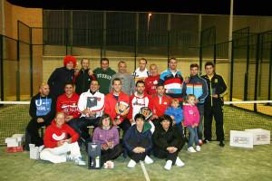 Foto de familia de la organización con los finalistas de cada categoría