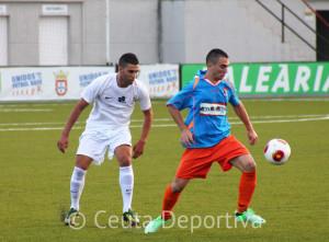 Segura, uno de los indiscutibles en el 'once' del Ceuta, se ha perdido por lesión los últimos 4 partidos del Ceuta