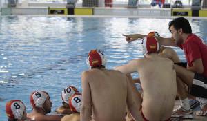 Gabi Hernández se estrena en casa en su cargo de nuevo seleccionador masculino de waterpolo