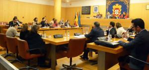 El Pleno ha dado viabilidad a la nueva sede de la FFc con los votos del PP y Caballas y la oposición del PSOE