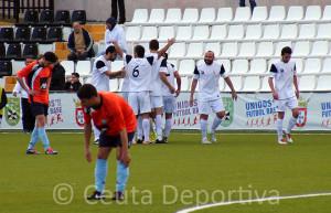 La AD Ceuta FC ha mejorado los números del curso pasado