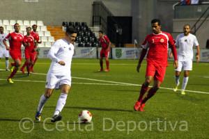 El Ceuta se enfrentará el sábado al CD San Roque con el que empató en el Murube
