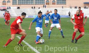 SAN FERNANDO C D --- A D CEUTA FC   FOTOS RIOJA